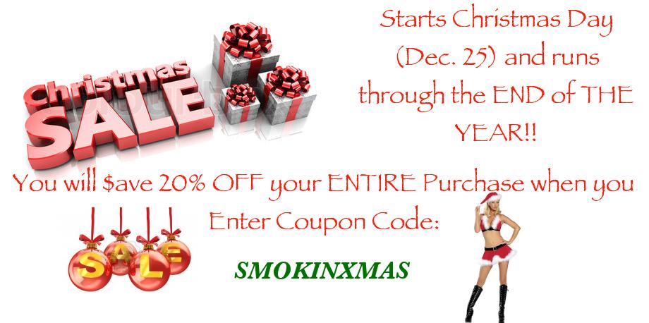 LegalHerbalShop.com Christmas Sales Event!